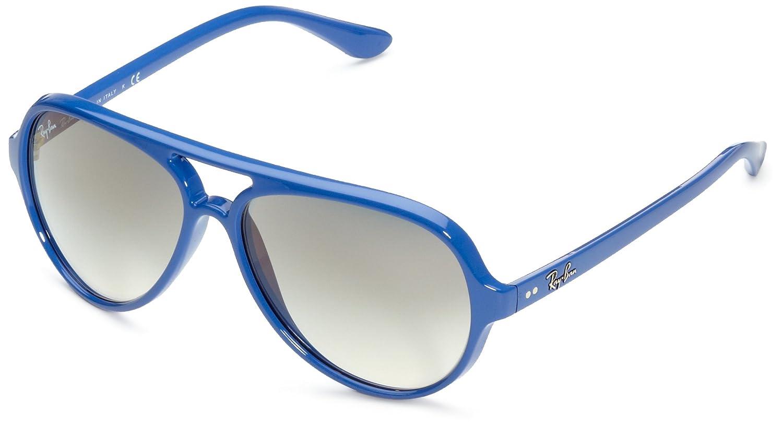 Rayban Gafas de Sol MOD. 4125 SOLE756/32 Azul: Amazon.es ...