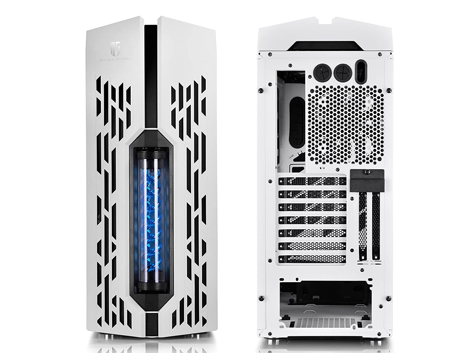 Deepcool Genome Ii Wh Bl Pc Case With Integrated 360mm Liquid U Pal Usb 30 Notebook Cooler Black I Emailed Deep Cool Ill Report Back If They Plan To Do Something About It
