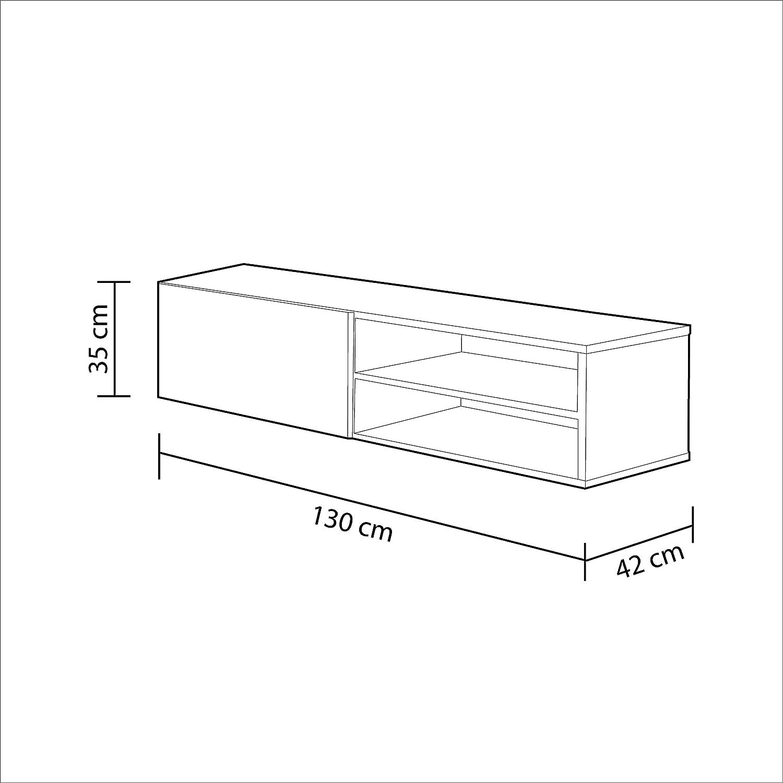 Habitdesign 006670G - Modulo de Comedor, Mueble TV Modelo Kikua ...
