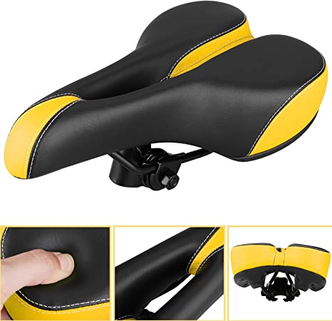 Mountain Bike Bicycle Cycle MTB Soft Saddle Seat Road Sport Extra Comfort*
