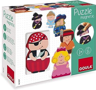 Goula - Puzzle Personajes Magnéticos (55237): Amazon.es: Juguetes y juegos