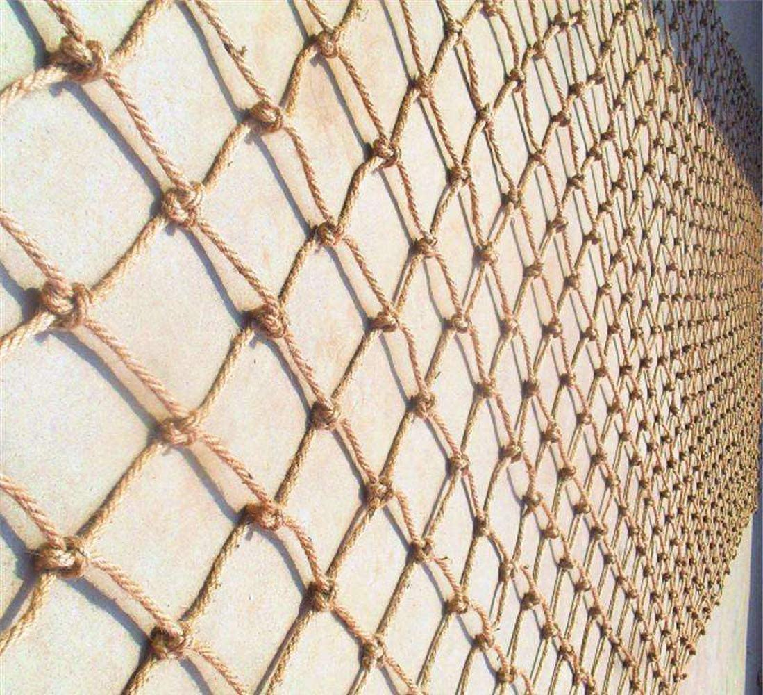 WEIFAN Jute Twine String Netting,Garden Bundling Net Pet, Plant Support, Cargo, Climbing Cargo Net Biodegradable & Compostable Natural Garden Jute Trellis Twine