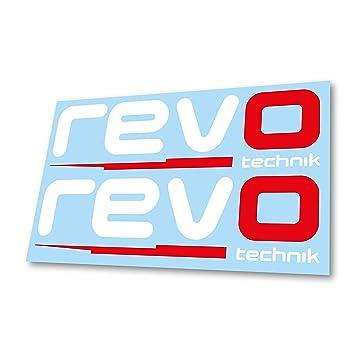 GraphicFX x2 Revo Technik Car Bodywork Window Badge Logo Mod Decal