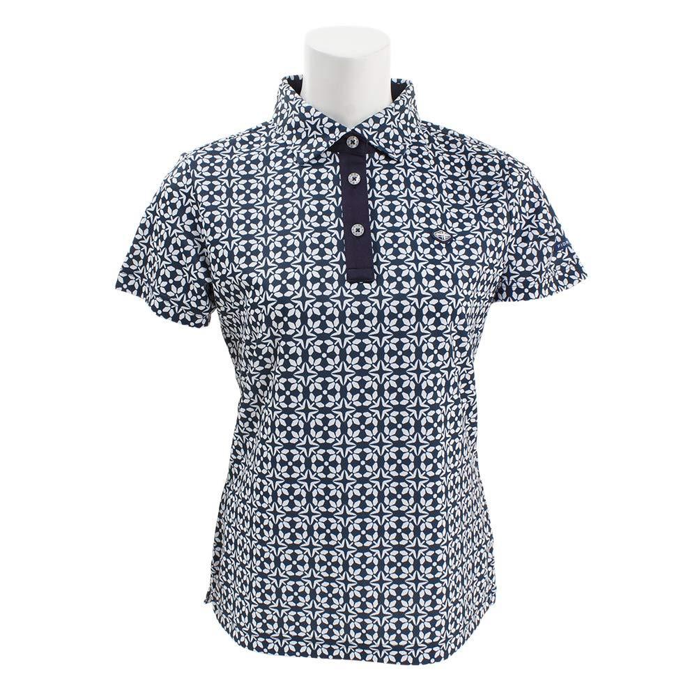 フィドラ(フィドラ) プリントポロシャツ FI51UG10 NVY L ネイビー B07Q821QKS