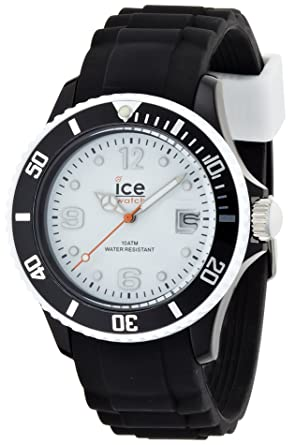 36a4cda59f8f4 ICE-Watch - Montre Mixte - Quartz Analogique - Ice-White - Black ...