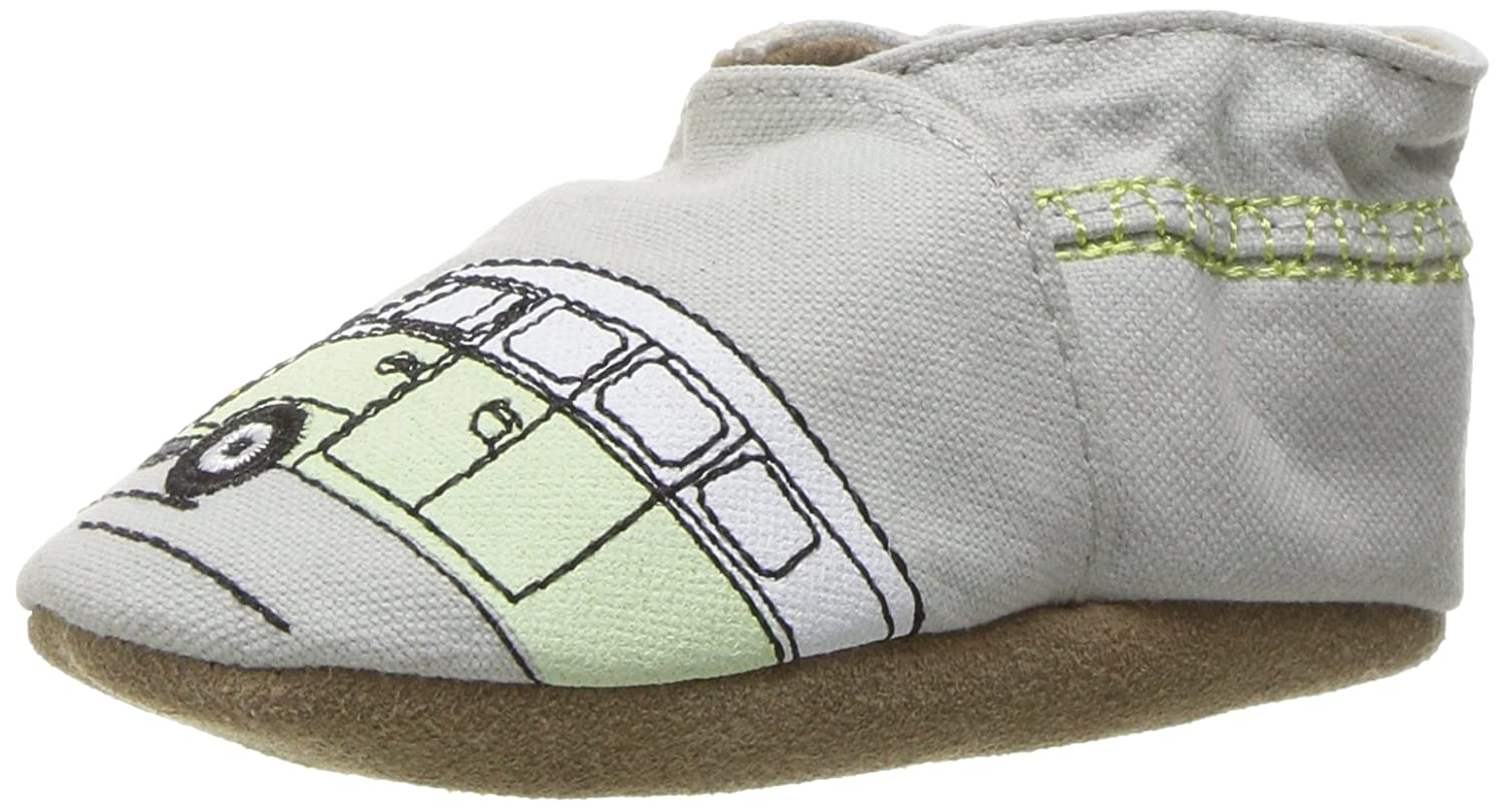 Robeez Boys' Soft Soles, Traditional Silhouette Robeez Boys' Soft Soles Elephant Eddie - K
