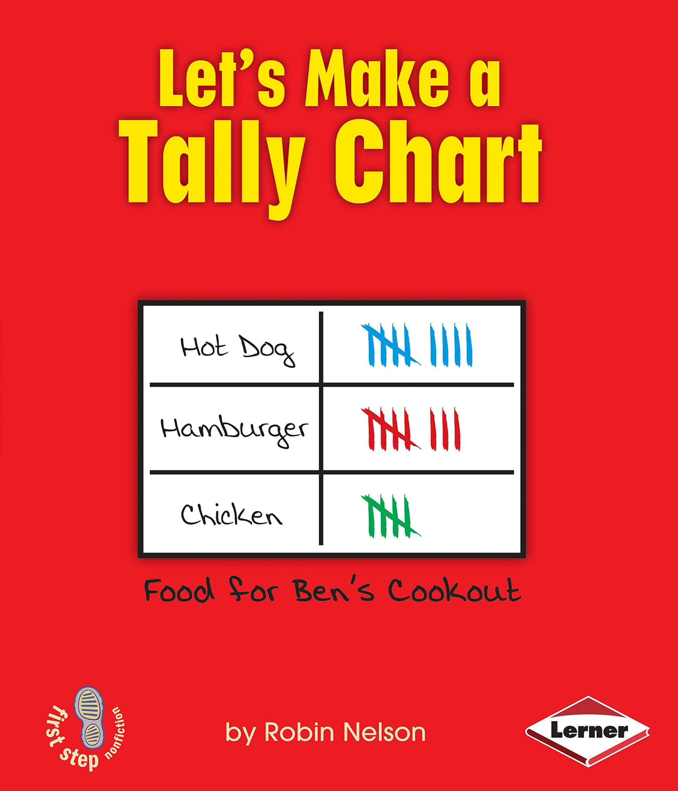 Download Let's Make a Tally Chart (First Step Nonfiction) PDF