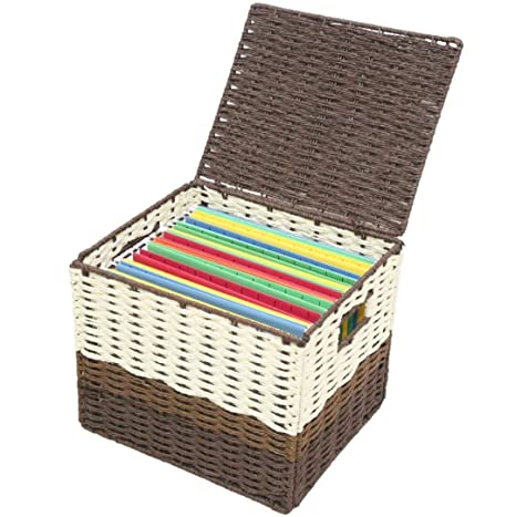 hanging file box. Letter Size Hanging File Box Organizers With Lid SFB500