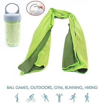 Toalla de Enfriamiento Instantáneo Microfibra Toalla fría Toalla Toallas de Gimnasio Todos los Deportes Secado Rápido
