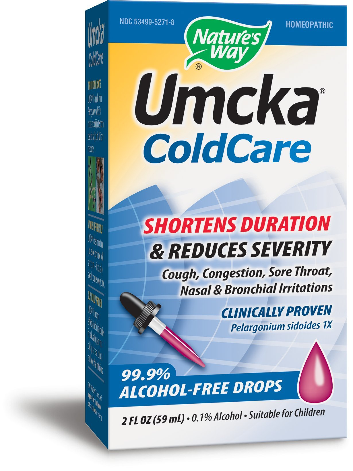 Nature's Way Umcka ColdCare Original  Alcohol Free Drops by Nature's Way