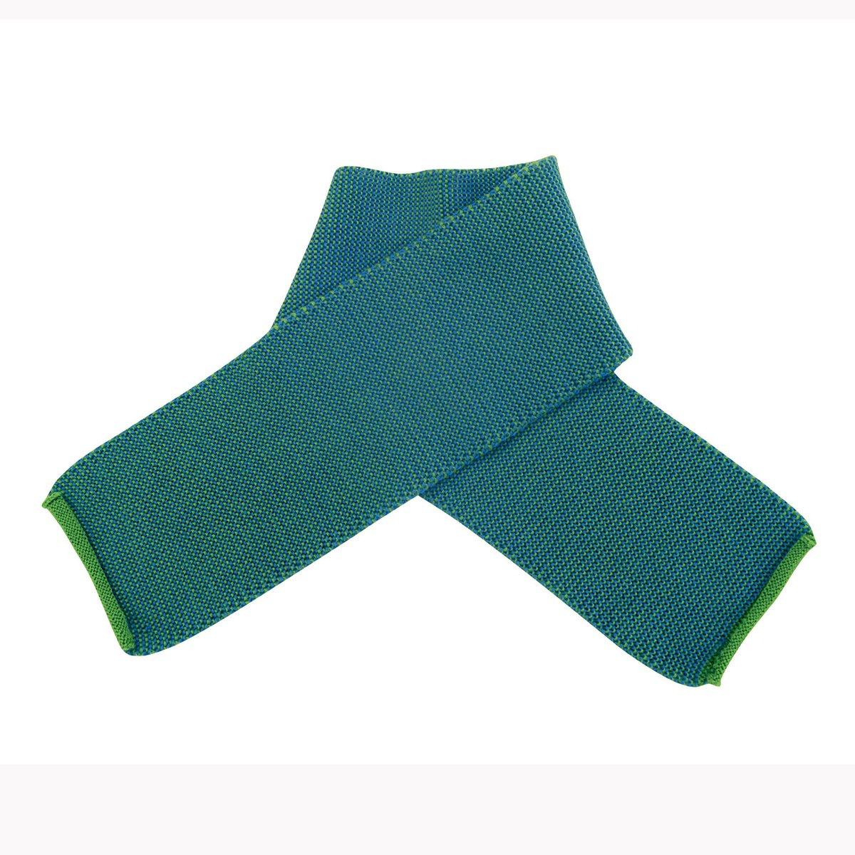 Sciarpa in lana Merino -col. verde melange Disana 26548-000-00505-21