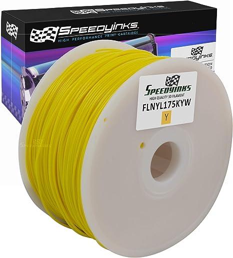 Speedy tintas – 1,75 mm 1 kg Nylon amarillo filamento para ...
