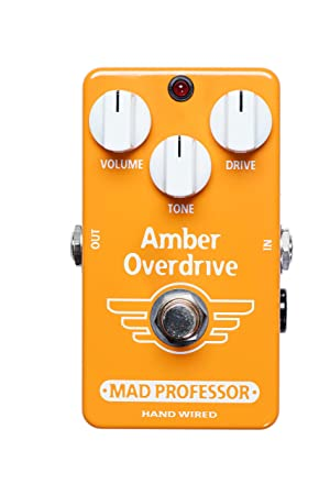 MAD Professor Amber Overdrive efectos de guitarra eléctrica Distortion - Pedal overdrive - .: Amazon.es: Instrumentos musicales