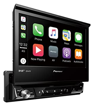 Pioneer Avh Z7000dab Single Din Motorized Screen Head Unit Amazon