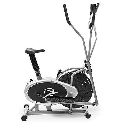 Plasma Fit Elíptica Máquina Elíptica 2 en 1 Bicicleta Estática Cardio Fitness Gimnasio en casa Equipos: Amazon.es: Deportes y aire libre
