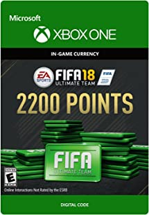 fifa 18 ultimate team 12000 points xbox one digital code