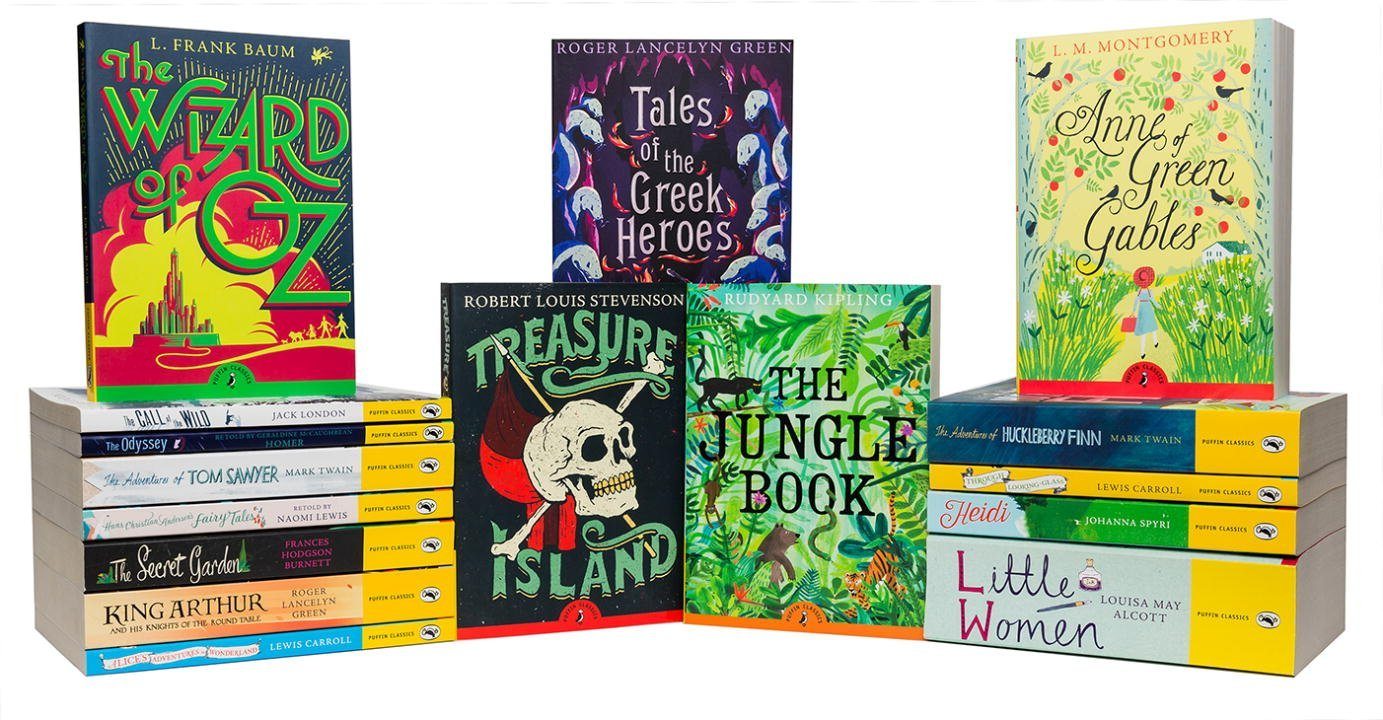 Puffin Classics 16 Book Set by Puffin Books (Image #1)