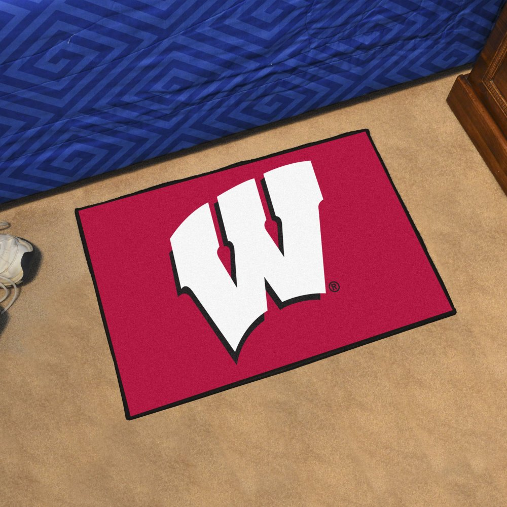 Fanmats Starter Floor Mat - University of Wisconsin Fan Mats 1640.0