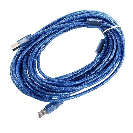 3 opinioni per cavo stampante Estensione- SODIAL(R) Cavo prolunga stampante da USB A maschio a