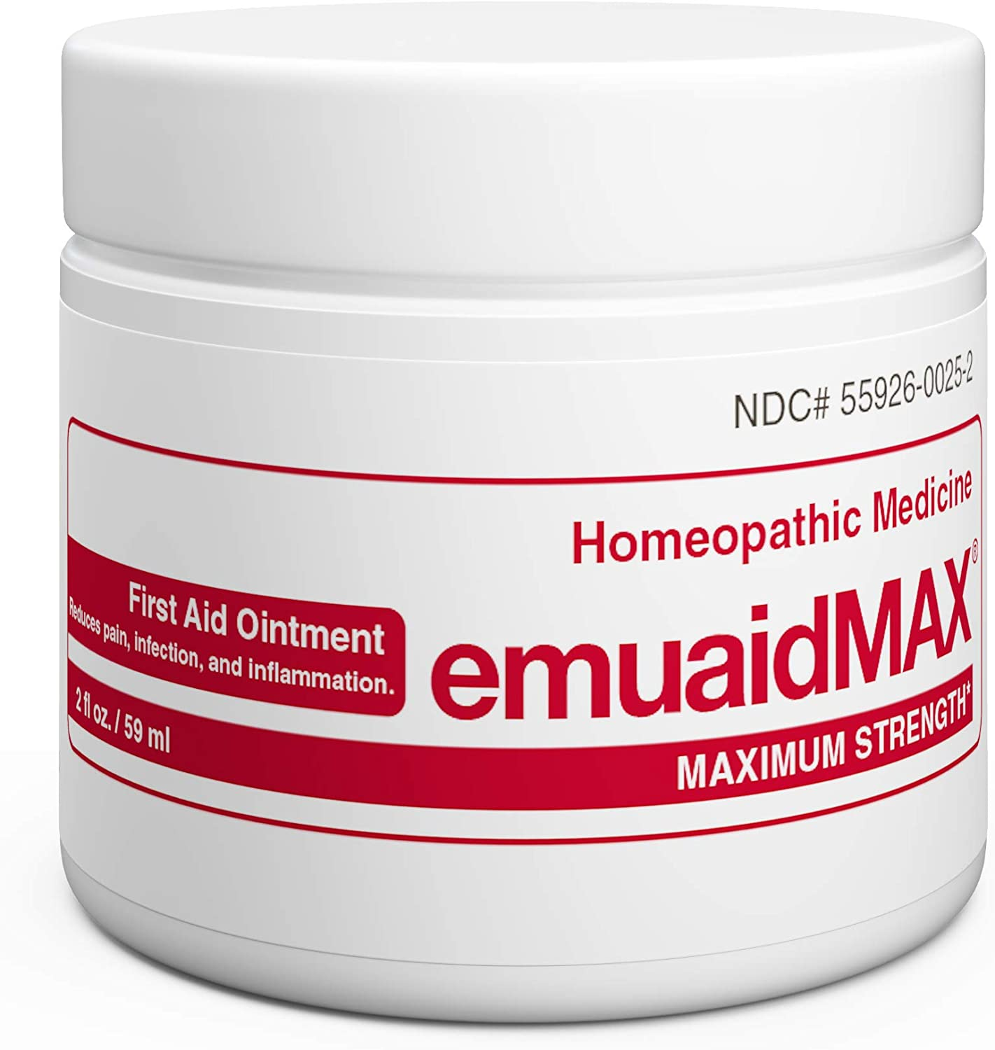 EMUAIDMAX Ointment - Eczema Cream. Maximum Strength Treatment. Use Max Strength for Athletes Foot, Psoriasis, Jock Itch, Anti Itch, Rash, Shingles and Skin Yeast Infection.: Health & Personal Care
