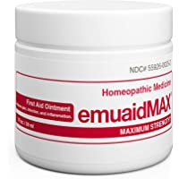 EMUAIDMAX Ointment 2 oz - Eczema Cream. Maximum Strength Treatment. Use Max Strength for Athletes Foot, Psoriasis, Jock…