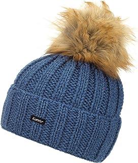 Eisbär Damen Jolina Lux Mütze Jeans-Braun One Size Eisbär (EBAR5) 30506