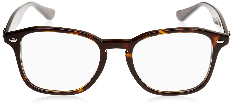 9066ffbcd8 Amazon.com  Ray-Ban Unisex RX5352 Eyeglasses Havana 52mm  Clothing