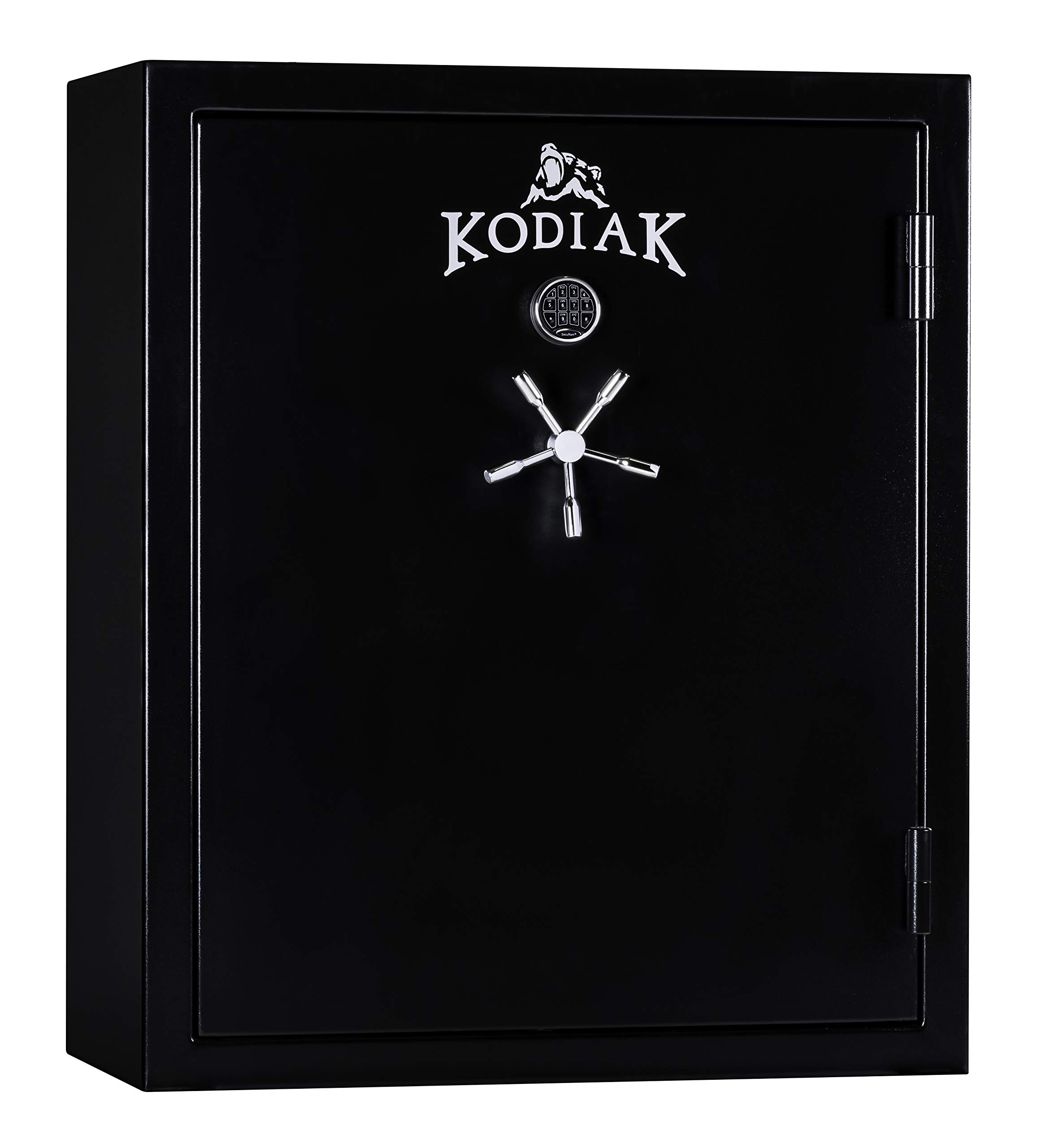 Kodiak KB5950EXS Import Gun Safe by Rhino Metals, 80 Long Guns and 10 Handguns, 900 lbs, 75 Minute Fire Protection, Electronic Lock and Bonus Deluxe Door Organizer by Kodiak