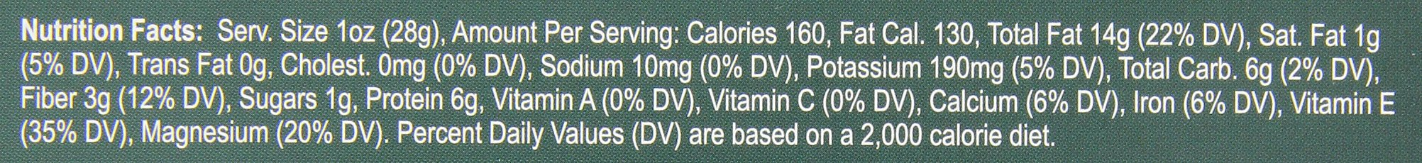 Madi K's Whole Natural Almonds, 1 Ounce Bag (Pack of 48) by Madi K's (Image #2)