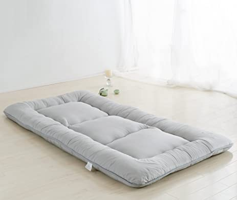 light grey futon tatami mat japanese futon mattress cheap futons for sale luxury bedding christmas gift