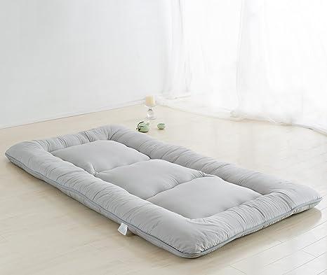 Colorful Mart Light Grey Futon Tatami Mat Japanese Futon Mattress Futons  for Sale Luxury Bedding Idea, Full Size