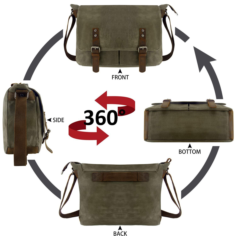 YANGYANJING【Imperm/éables】Sacoche Ordinateur Portable 15-15.6 Pouces Sac Bandouli/ère Unisexe pour /École//Coll/ège//Travail//Voyage