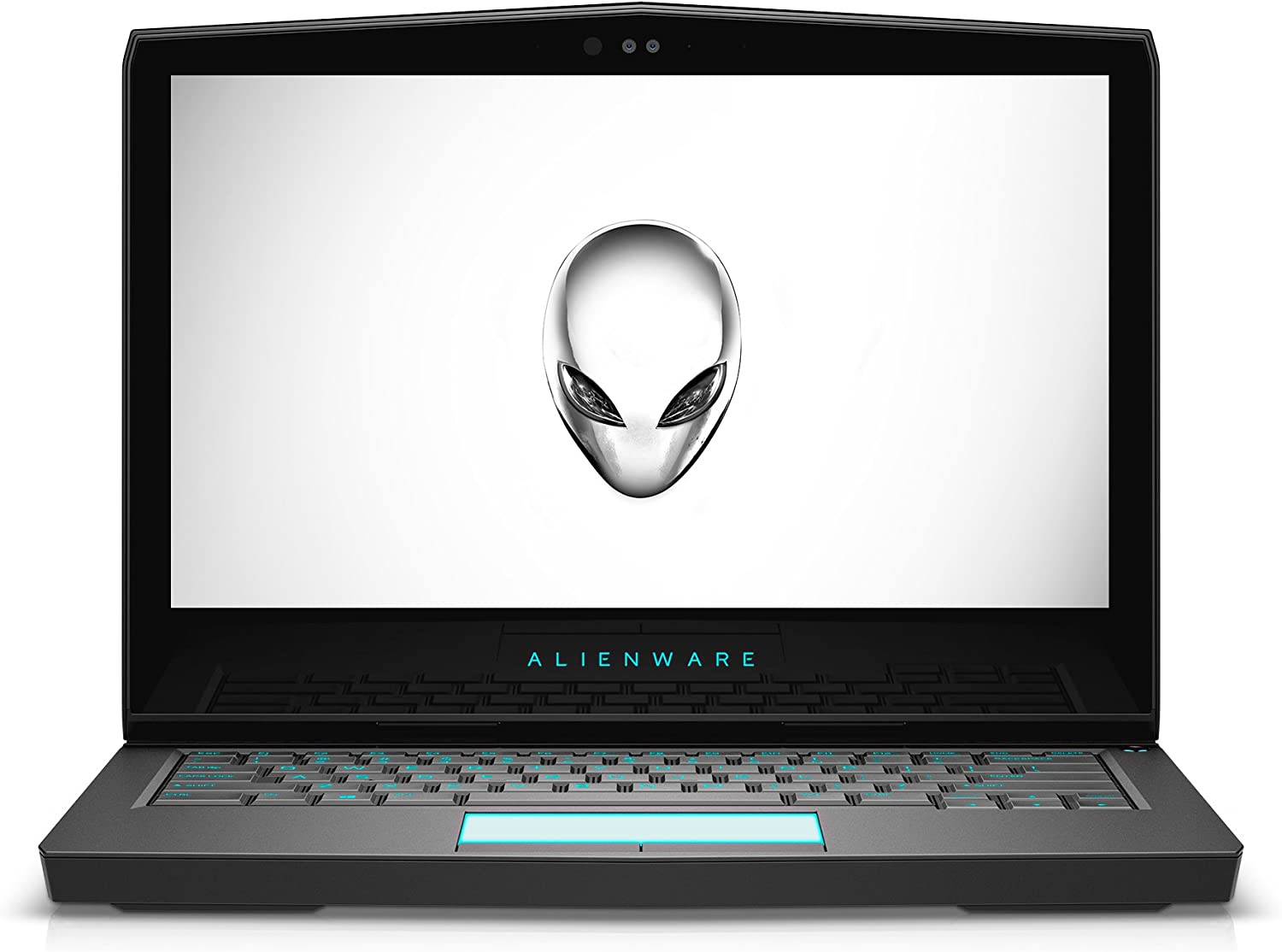 "Alienware AW13R3-7420SLV-PUS 13.3"" Gaming Laptop (7th Generation Intel Core i7, 16GB RAM, 512 SSD, Silver) VR Ready with NVIDIA GTX 1060"