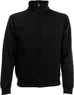 Felpa con Zip Fruit of The Loom Felpa da Uomo Premium Sweat Jacket - Tutte Le Taglie by tshirteria t-shirteria
