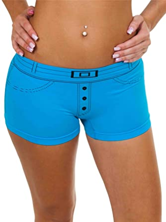 60d42eafdf28 Love My Fashions Ladies Knickers Pants Womens Denim Causal Cotton Style Underwear  Boxer Shorts Summer Size
