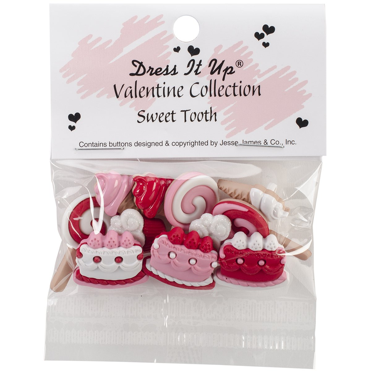 Dress It Up 8104 Sweet Tooth Buttons Jesse James DIUHLDAY-8104