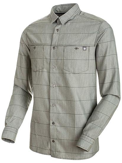 9efb323153523 Mammut Alvra Camisa Cuello de Camiseta Polo Manga Larga Lana - Camisas y  Camisetas (Camisa