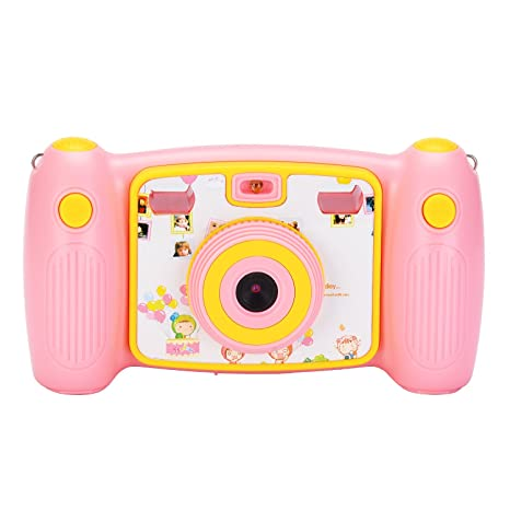 Amazon jusinhel cute kids action camera for children digital jusinhel cute kids action camera for children digital video hd camcorder dv for holiday birthday gift negle Choice Image