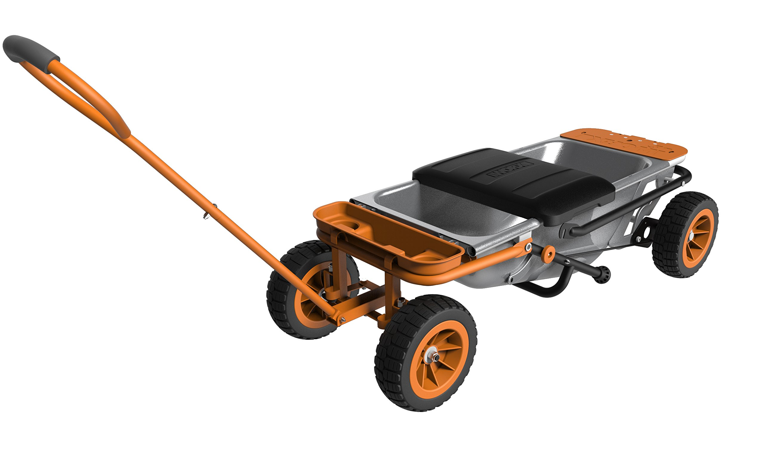WORX Aerocart Multifunction Wheelbarrow, Dolly and Cart with WA0228 Wagon Kit by Worx