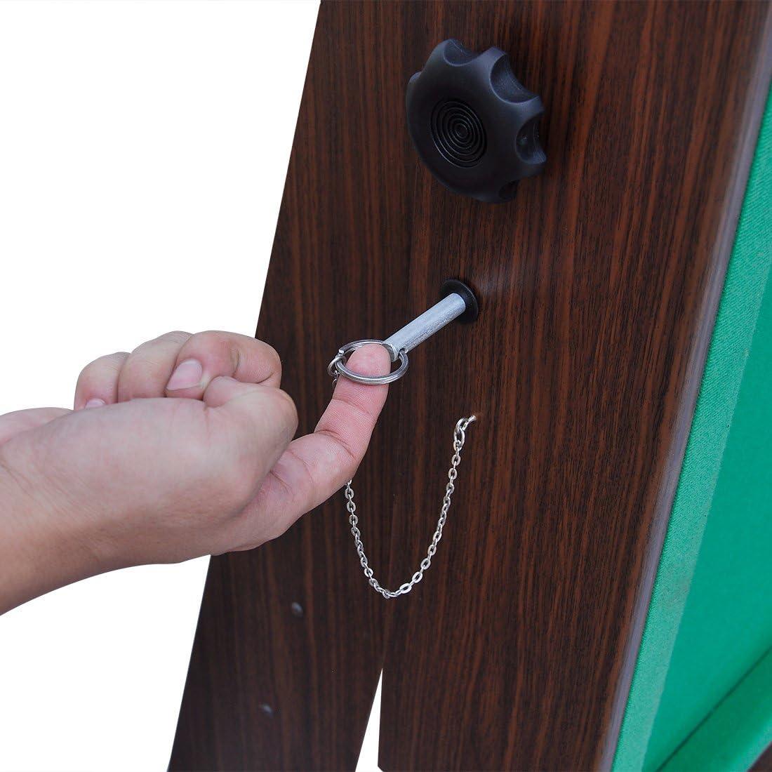 HLC- Mesa de Billar Plegable con Accesorios completos 183 * 91.5 * 79cm Verde,Mini,Juguete,Regalo Ideal para Sus Familiares y Sus niños!: Amazon.es: Juguetes y juegos