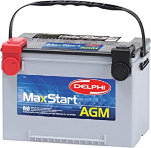 Delphi BU9078 MaxStart AGM Premium Automotive Battery, Group Size 78