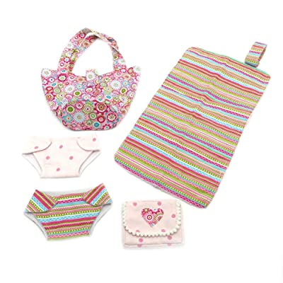 Baby Doll Complete Diaper Bag Set: Toys & Games [5Bkhe1101593]