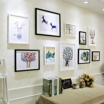Amazon.com: @Decorative frame Decorative Photo Frames ,10 Pcs/sets ...