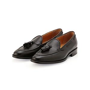 [シップス] 靴 SD 【ハンドソーンウエルテッド製法】 アノネー タッセル ローファー 115130898 メンズ ブラック1 75(25.5cm)