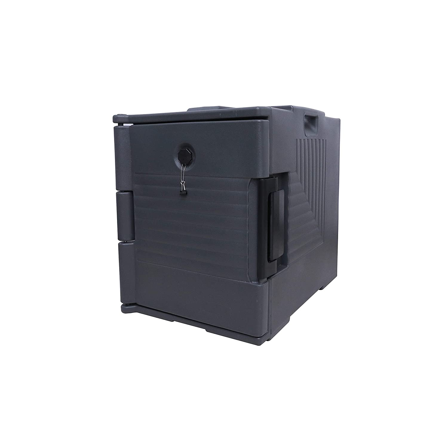 Front-Loading Insulated Food Pan Carrier,95 Quart Capacity, Food-Grade LLDPE Material, Portable Food Warmer for Canteen and Restaurant Use