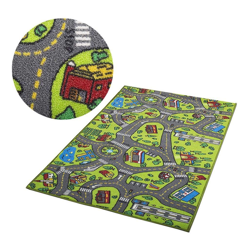 Luerme Kinder Spielmatte Kinder Teppich Playmat City Life Style Teppich Verkehrssicherheit Bildung Pad Spur Decke Playmat Spielzeug