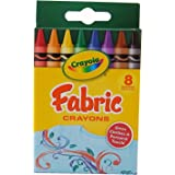 Amazon Com Crayola 8 Count Fabric Crayons Toys Amp Games