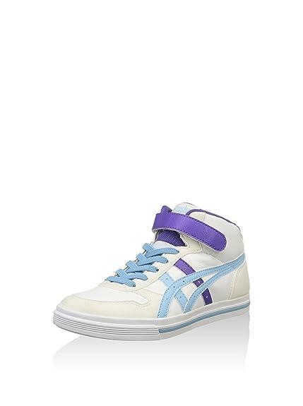 Onitsuka Tiger Zapatillas Aaron MT PS Blanco/Azul EU 34.5: Amazon.es: Zapatos y complementos