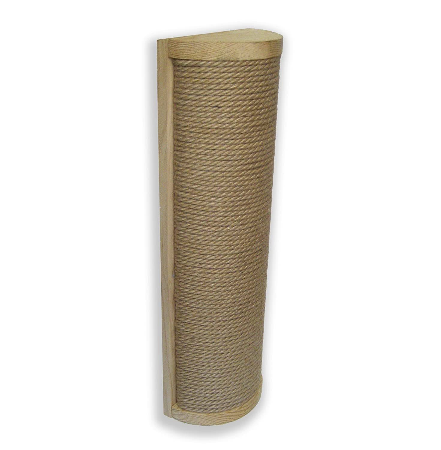 Wall Mounted Cat Scratching Post, Save Floor Space, Reduce Clutter, Solid Wood Cat Furniture Scratcher with Sisal Rope