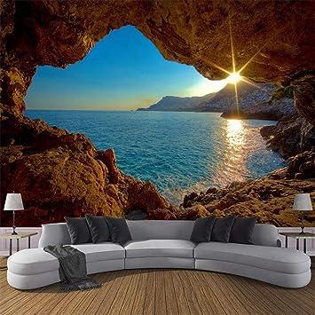 HOMEEN HD Tapete Individuelle Fototapete 3D-Höhle ...